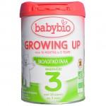 BABYBIO ΓΑΛΑ ΣΕ ΣΚΟΝΗ GROWING UP ΓΙΑ ΒΡΕΦΗ ΑΠΟ 10 ΜΗΝΩΝ ΕΩΣ 3 ΕΤΩΝ ΒΙΟ 900 γρ.