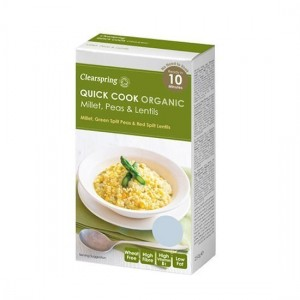 CLEARSPRING QUICK COOK ΜΕΙΓΜΑ ΚΕΧΡΙ, ΑΡΑΚΑΣ ΚΑΙ ΦΑΚΕΣ ΒΙΟ 250 γρ.