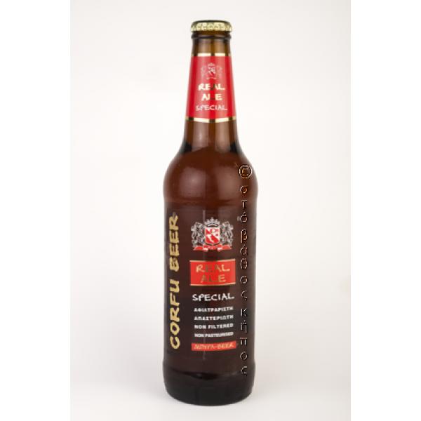 CORFU BEER REAL ALE SPECIAL 500 ml