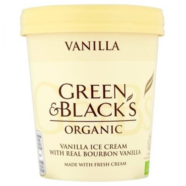 GREEN & BLACK'S ΠΑΓΩΤΟ ΒΑΝΙΛΙΑ ΒΙΟ 500 ml.