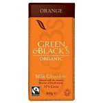 GREEN & BLACK'S ΣΟΚΟΛΑΤΑ ΓΑΛΑΚΤΟΣ ΜΕ ΑΡΩΜΑ ΣΑΓΚΟΥΙΝΙ ΒΙΟ 100 γρ.