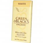 GREEN & BLACK'S ΣΟΚΟΛΑΤΑ ΛΕΥΚΗ ΜΕ 30% ΣΤΕΡΕΑ ΚΑΚΑΟ ΒΙΟ 100 γρ.