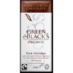 GREEN & BLACK'S ΣΟΚΟΛΑΤΑ ΜΑΥΡΗ ΜΕ 70% ΣΤΕΡΕΑ ΚΑΚΑΟ (ΚΟΥΒΕΡΤΟΥΡΑ ) ΓΙΑ ΜΑΓΕΙΡΕΜΑ ΒΙΟ 150 γρ.