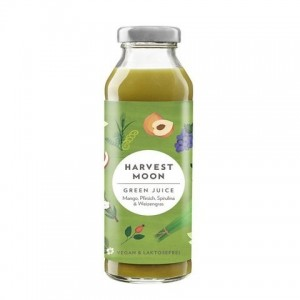 HARVEST MOON SMOOTHIE GREEN JUICE ΜΕ ΣΠΙΡΟΥΛΙΝΑ ΒΙΟ 300 ml