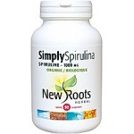 NEW ROOTS SIMPLY SPIRULINA 1000 mg, 90 tabs