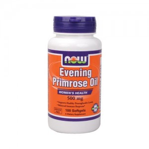 NOW EVENING PRIMEROSE OIL 500 mg, 100 softgels