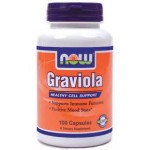 NOW GRAVIOLA 500mg, 100 caps