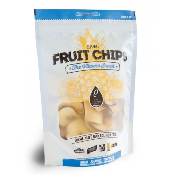 RHO FOODS FRUIT CHIPS 100 γρ.