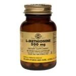 SOLGAR L-METHIONINE 500mg, 30 caps