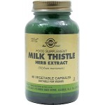 SOLGAR MILK THISTLE HERB EXTRACT 60 v. caps