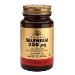 SOLGAR SELENIUM 200 mg, 50 tabs