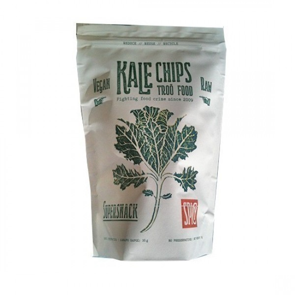 TROO FOOD RAW KALE CHIPS SPICY ΒΙΟ 35 γρ.