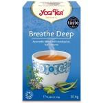 YOGI TEA BREATH DEEP (ΓΙΑ ΚΑΛΥΤΕΡΕΣ ΑΝΑΠΝΟΕΣ) ΒΙΟ 17 φακ.