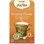 YOGI TEA GINSENG FLOWER ΒΙΟ 17 φακ.