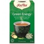 YOGI TEA GREEN ENERGY (ΠΡΑΣΙΝΗ ΕΝΕΡΓΕΙΑ ΓΙΑ ΤΟΝΩΣΗ) ΒΙΟ 17 φακ.