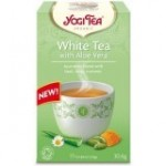 YOGI TEA WHITE WITH ALOE VERA ΒΙΟ 17 φακ.