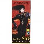 ZOTTER LABOOKO HIGH-END ΜΑΥΡΗ ΣΟΚΟΛΑΤΑ 96% ΒΙΟ 65 γρ.