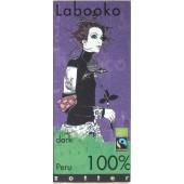 ZOTTER LABOOKO PERU 100% ΜΑΥΡΗ ΣΟΚΟΛΑΤΑ ΒΙΟ 65 γρ.