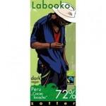 ZOTTER LABOOKO PERU CACAO TOCACHE ΜΑΥΡΗ ΣΟΚΟΛΑΤΑ 72% ΒΙΟ 65 γρ.