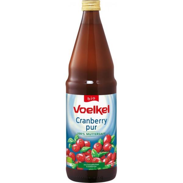 VOELKEL ΧΥΜΟΣ CRANBERRY BIO 750 ml