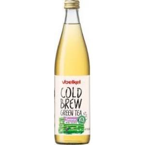 VOELKEL ICE TEA COLD BREW ΠΡΑΣΙΝΟ ΤΣΑΪ ΓΙΑΣΕΜΙ BIO 500 ml